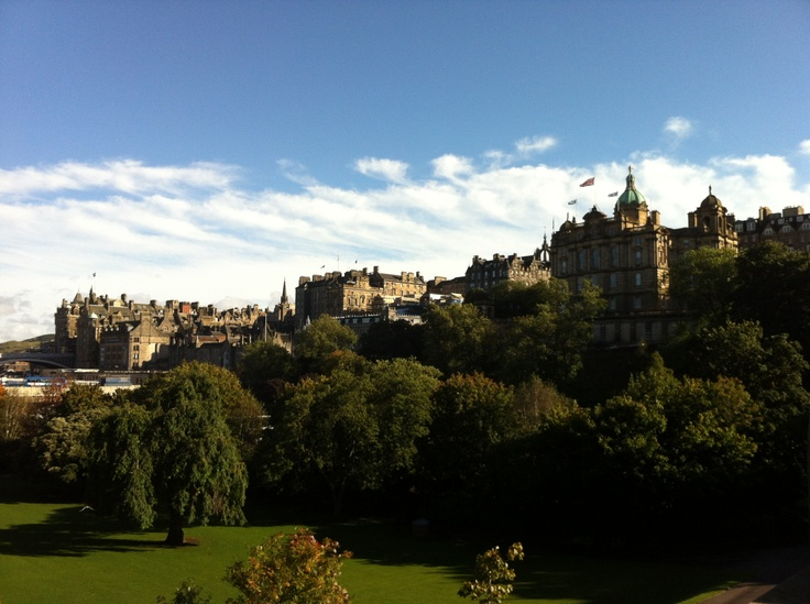 SCOTLAND - Edinburgh, looking across to the Olde Town 2012