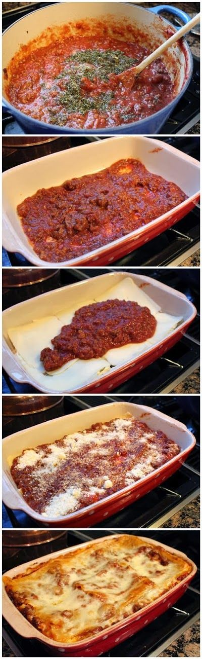 World's Best Lasagna.....this was my first attempt at homemade lasagna and it was SOOOO good!!!!!