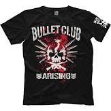 New Japan Pro Wrestling Bullet Club Arising T-shirt ...