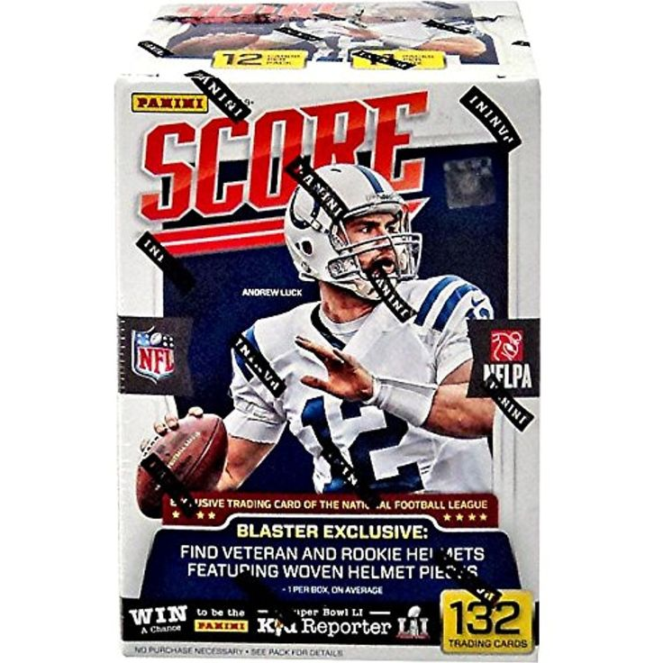 20162017 Score NFL Football Trading Cards Retail Factory