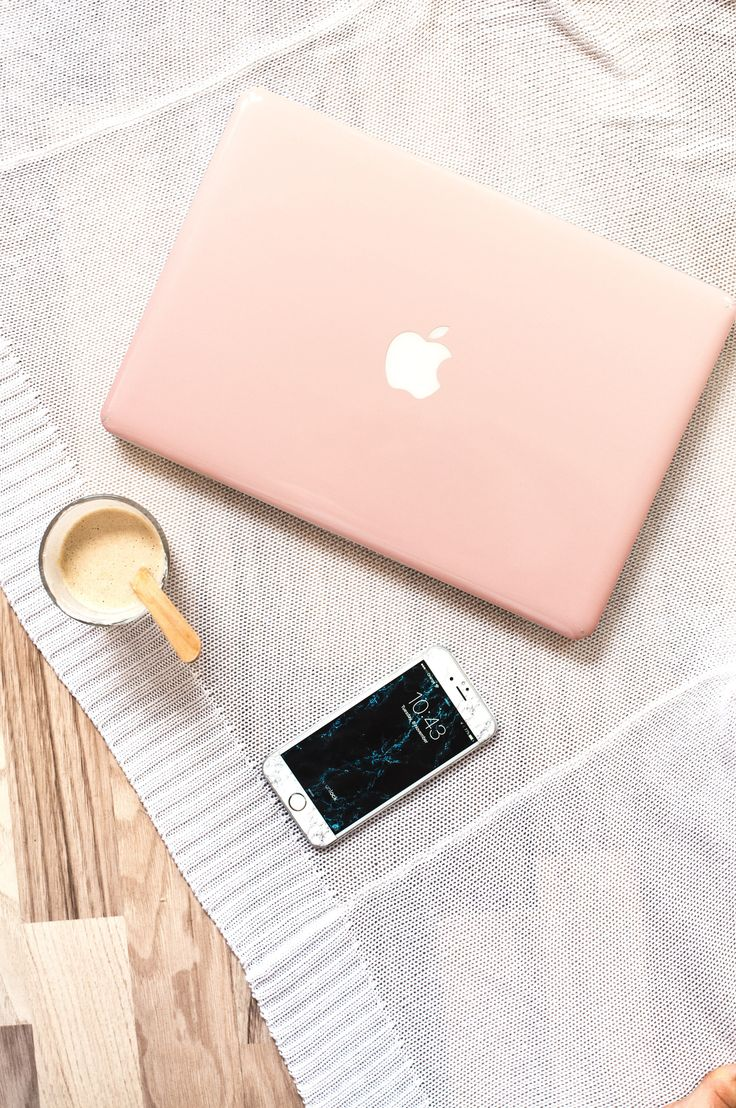 Macbook skin Rose Gold. Can be used for protection with or without clear case :) Bring some color to your office!