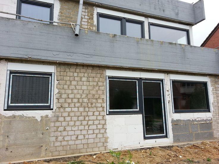 Veka Fenster mit Rollläden