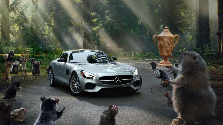 The storybook legend of two woodland creatures racing for forest dominance gets a fresh, modern spin thanks to a special guest appearance by the 2016 Mercede...