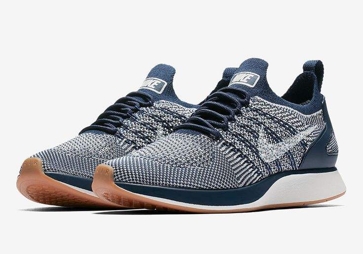 #sneakers #news  Nike Zoom Mariah Flyknit Racer Coming In Navy And Gum