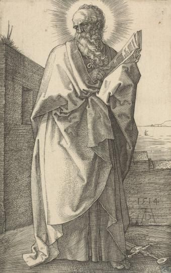 Апостол Павел - Немецкая гравюра