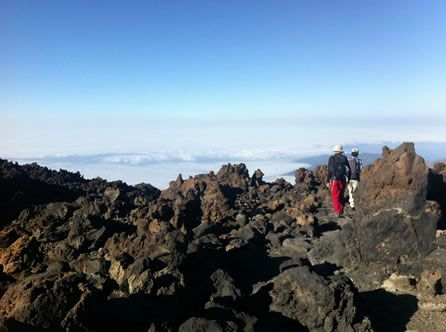 Gennaio 2013: le mete del mese. Dalla Tanzania a Palermo; #Canarie, in cima al Teide © Fotografia di Tanja Beccaceci