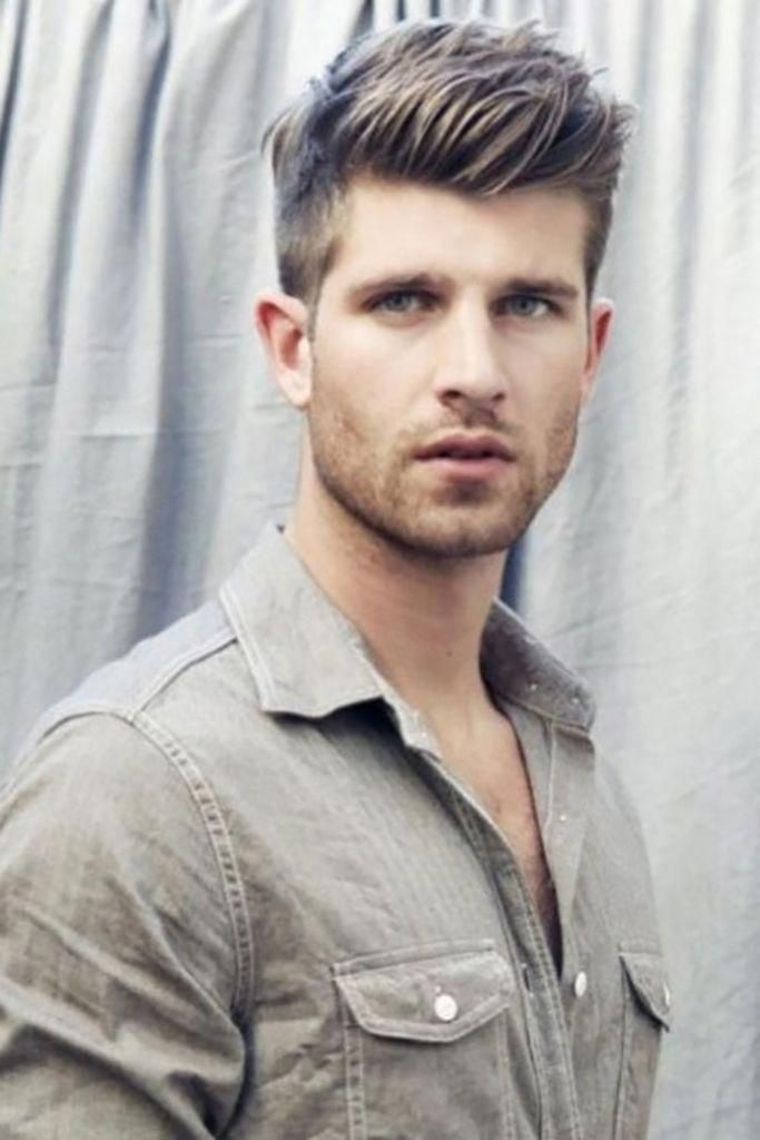 Short On Sides Long On Top Haircut Men 5 Cool Men39s Hairstyles For Summer 2014 The Fashion S Cool Hairstyles For Men Oval Face Hairstyles Long Hair Styles Men
