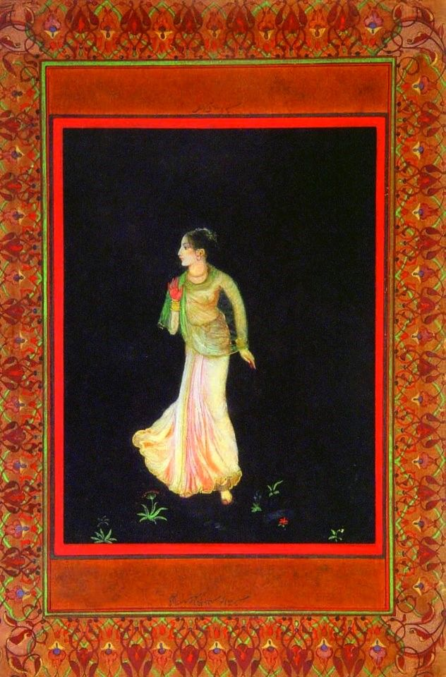 Abhisarika, 1897, Abanindranath Tagore