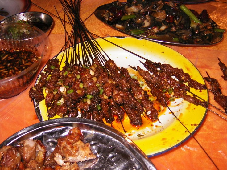 Barbecue is a feature of guiyang