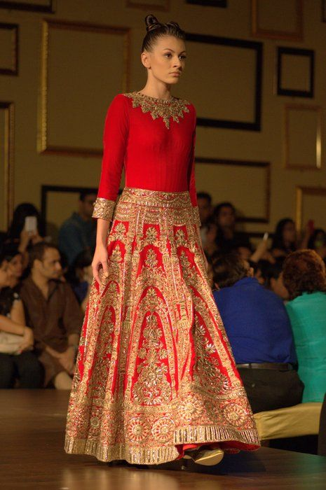 Manish Malhotra at India Couture Week 2014 -Indian Garment.