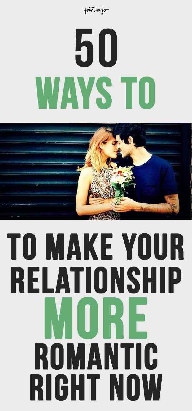how to make your relationship more romantic