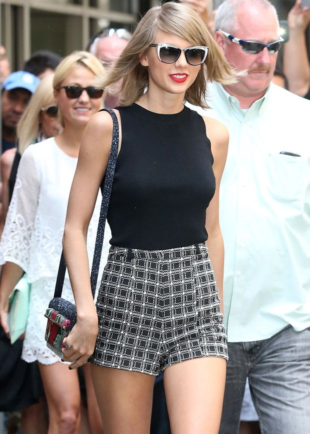 tendencia pin up shorts la apuesta del verano 2015 taylor swift