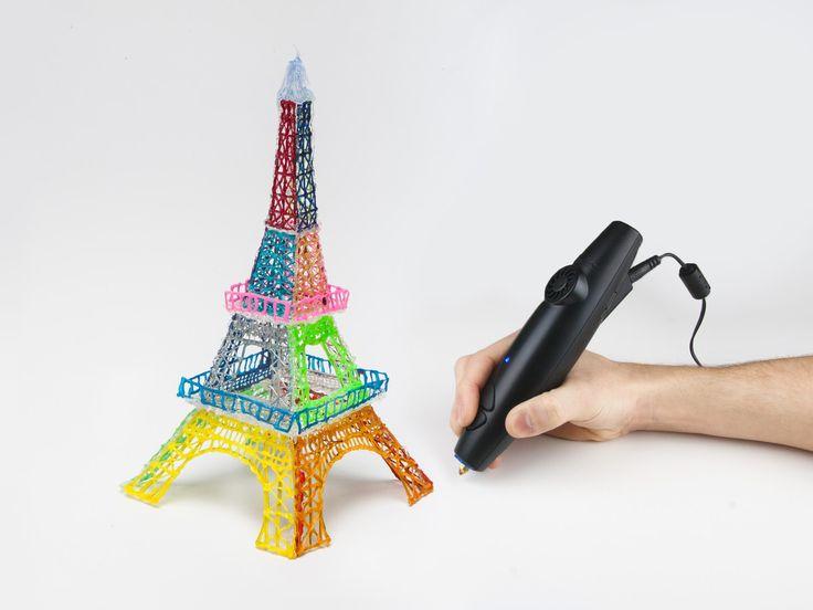 3Doodler - sej 3D pen som kan tegne streger i luften!