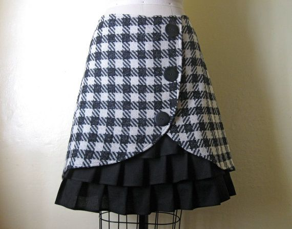 tulip skirtSewing, Shops Reviews, Ruffles Skirts, Awesome Skirts, Check Tulip, Front Skirts, Adorable Skirts, Tulip Skirts, Ruffles Front