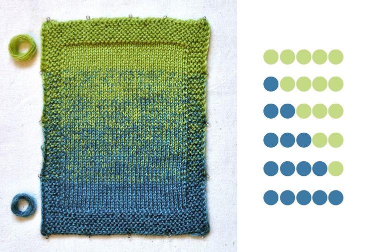 tru-knitting: Работа с цветом: деграде, меланж. Degrade tutorial: http://tru-knitting.blogspot.ru/2015/02/blog-post_11.html