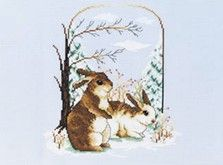 Craft Ideas : Projects : Details : snow-bunnies