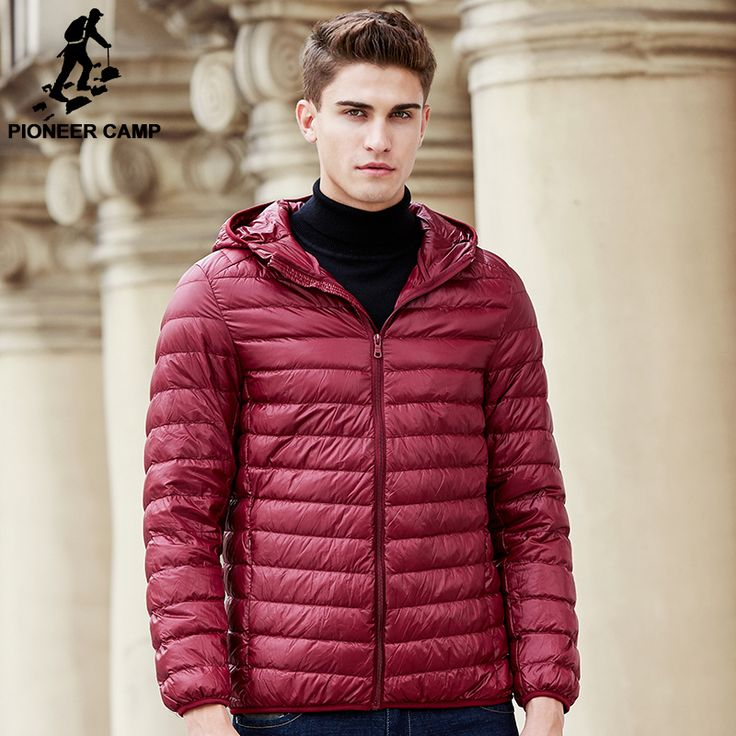 Cheap brand men parka, Buy Quality man down parka directly from China men parka Suppliers: Pioneer Camp New light thin hoodie men down jacket brand clothing top quality male duck down coat casual men down parkas 611635