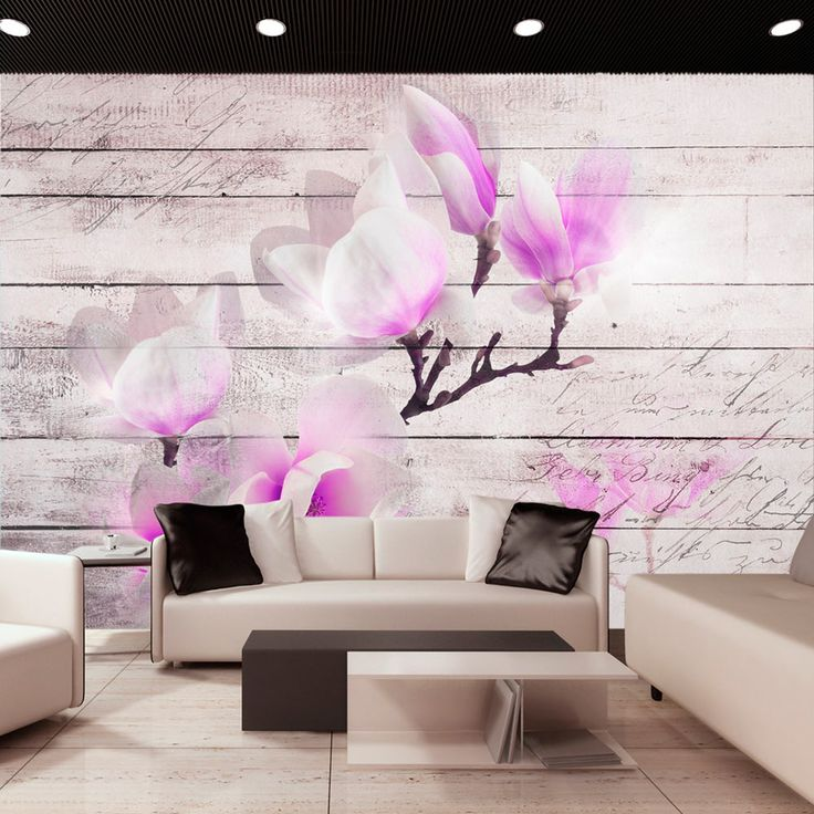 best 25 fototapete blumen ideas on pinterest tapete. Black Bedroom Furniture Sets. Home Design Ideas