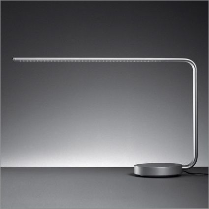 One Line Rotational LED Desk Lamp; Ora Ito for Artemide