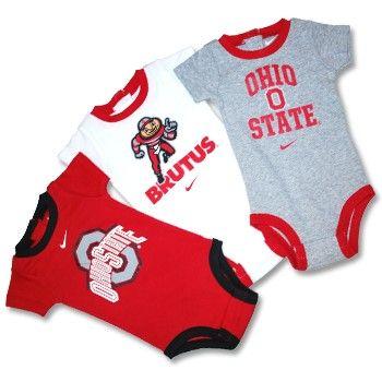 Ohio State Buckeyes Infant Nike Creeper Set - Everything Buckeyes - OSU Fan Shop