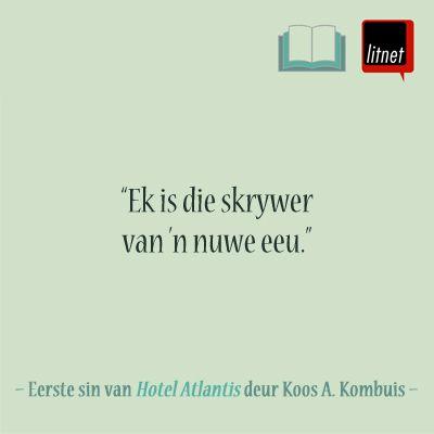 Geliefde Afrikaanse romans: Lees die eerste en laaste sinne van geliefde Afrikaanse romans op LitNet: www.litnet.co.za/geliefde-afrikaanse-romans-ii/.