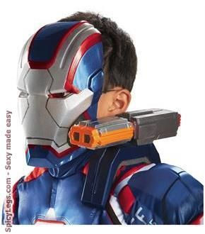 ... patriot boys halloween costume size; 16 best iron man costumes and accessories images on pinterest iron ...  sc 1 st  The Halloween - aaasne & Iron Patriot Halloween Costume - The Halloween