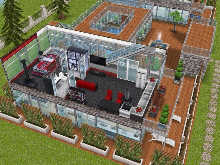 House 95 gated apartments level 2 #sims #simsfreeplay #simshousedesign