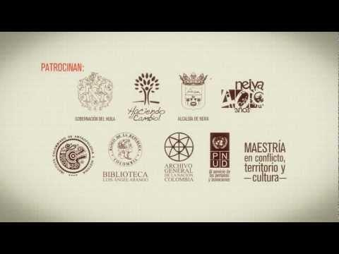 Corto Promocional para le 16 Congreso Colombiano de Historia realizado en Neiva en el 2012.
