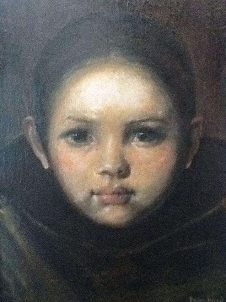 Portret by Britt-Helen after Nerdrum.