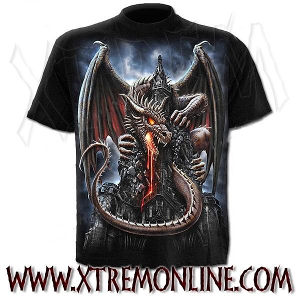 Camiseta de manga corta Dragon Lava.