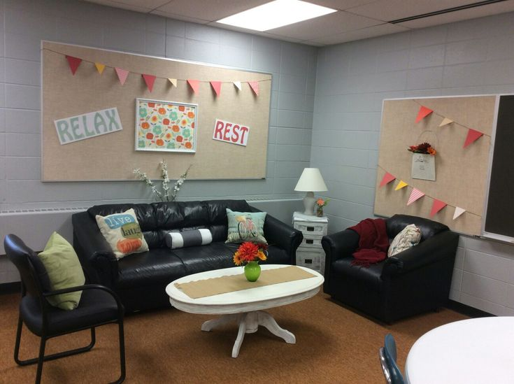 Teacher Lounge Make-over!
