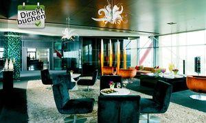 Groupon - Barcelona: Aufenthalt für Zwei, optional mit Frühstück, im 5-Sterne-Hotel Hesperia Tower ab 94 € p. Nacht in Hospitalet de Llobregat. Groupon Angebotspreis: 94€