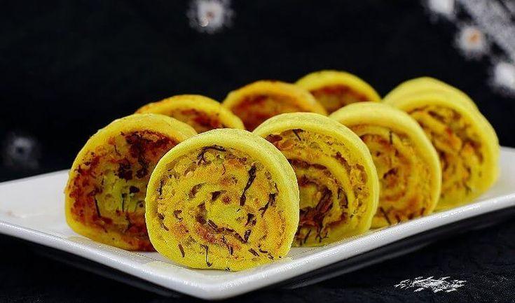 Постные рулетики из картофеля - традиционное индийское блюдо » Женский Мир