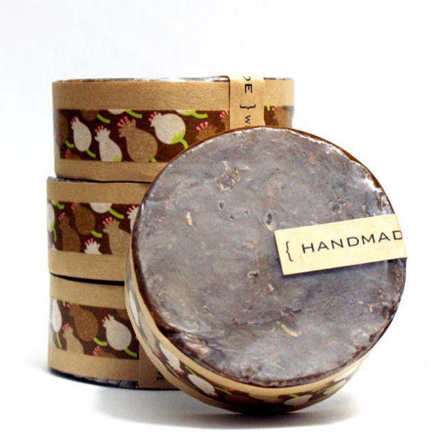 Handmade Bourbon Vanilla Soap with Real Espresso - Buy it or DIY it!