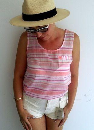Kup mój przedmiot na #vintedpl http://www.vinted.pl/damska-odziez/koszulki-na-ramiaczkach-koszulki-bez-rekawow/14360983-pastelowa-koszulka-na-ramiaczkach-rozm-3638-primarkatmosphere