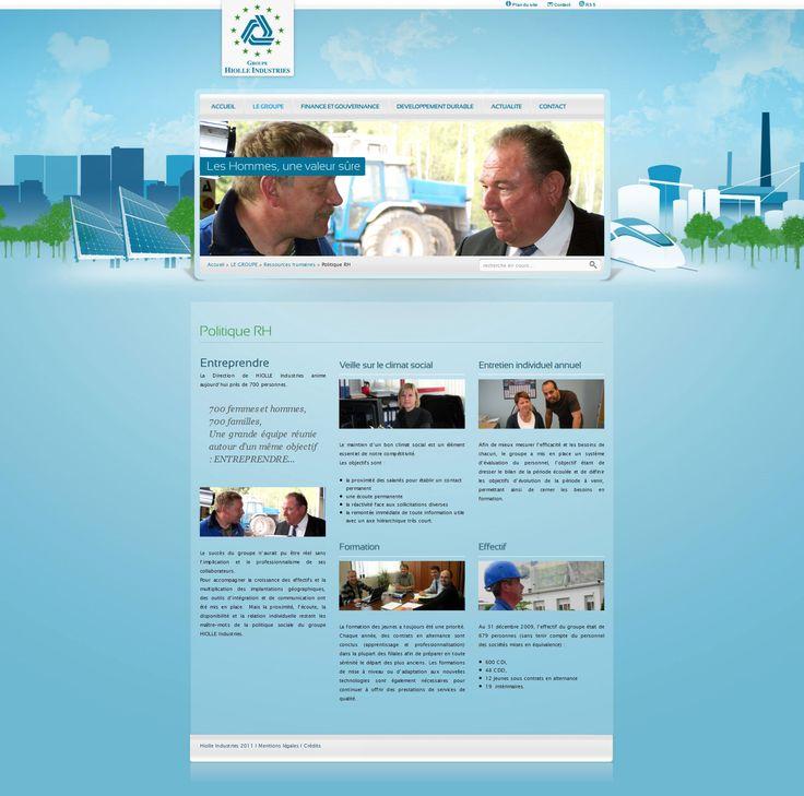 C-Pub Studio création du site : http://www.hiolle-industries.com/
