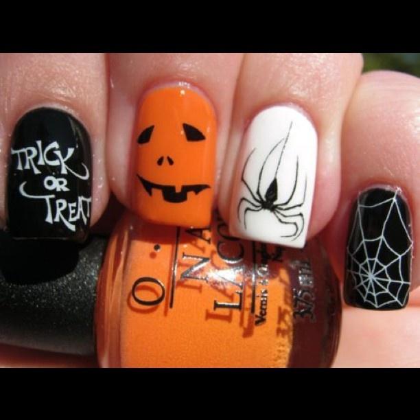 77 best Halloween Nail Designs images on Pinterest | Nail scissors ...