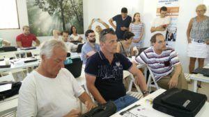 DIGA event organised in El Rompido//DIGA evento organizado en El Rompido