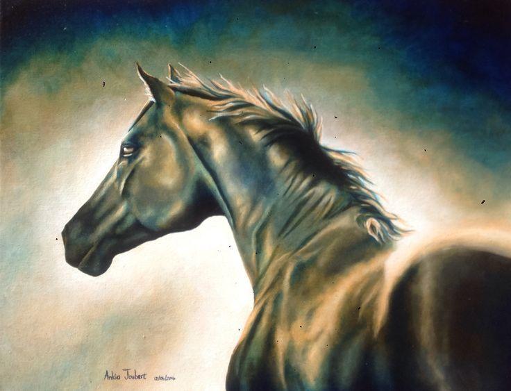 """""""Tanzpartner"""", Oil on Canvas"""