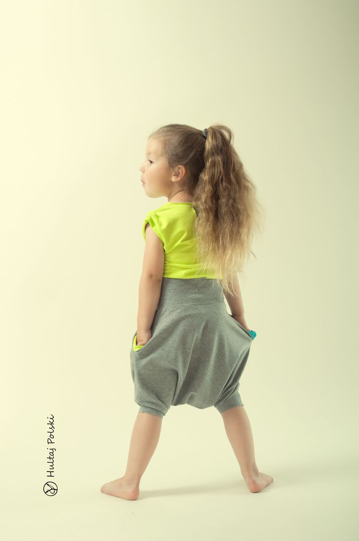 Short harem trousers #hultajpolski #polishrascal #kidswear #haremtrousers #baggytrousers