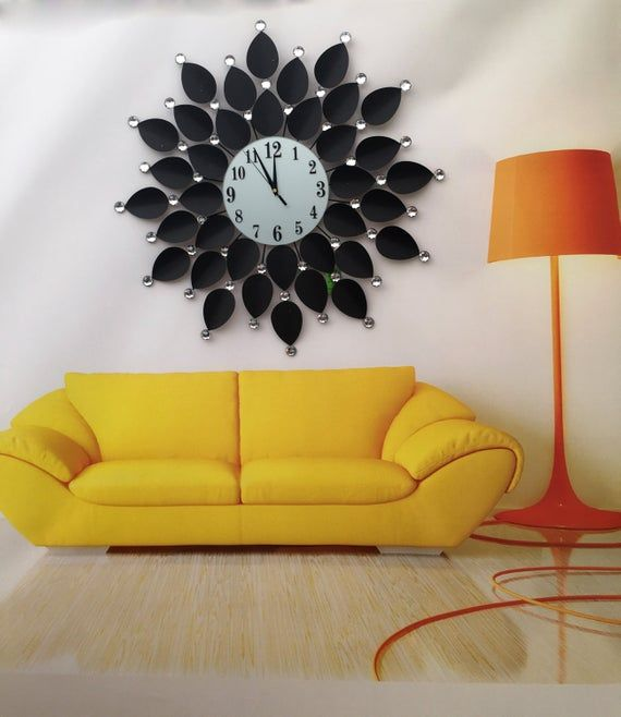Modern Wall Clock Fashion Art Clock Wall Decorate Wall Decor Living Room Modern Wall Clock Modern Decor
