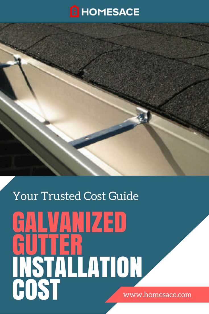 How much to charge for gutter installation - We Discuss What Will Determine The Cost To Install Galvanized Gutters Get The Accurate Cost