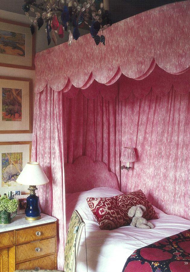 scalloped bed ~ Soane Britain