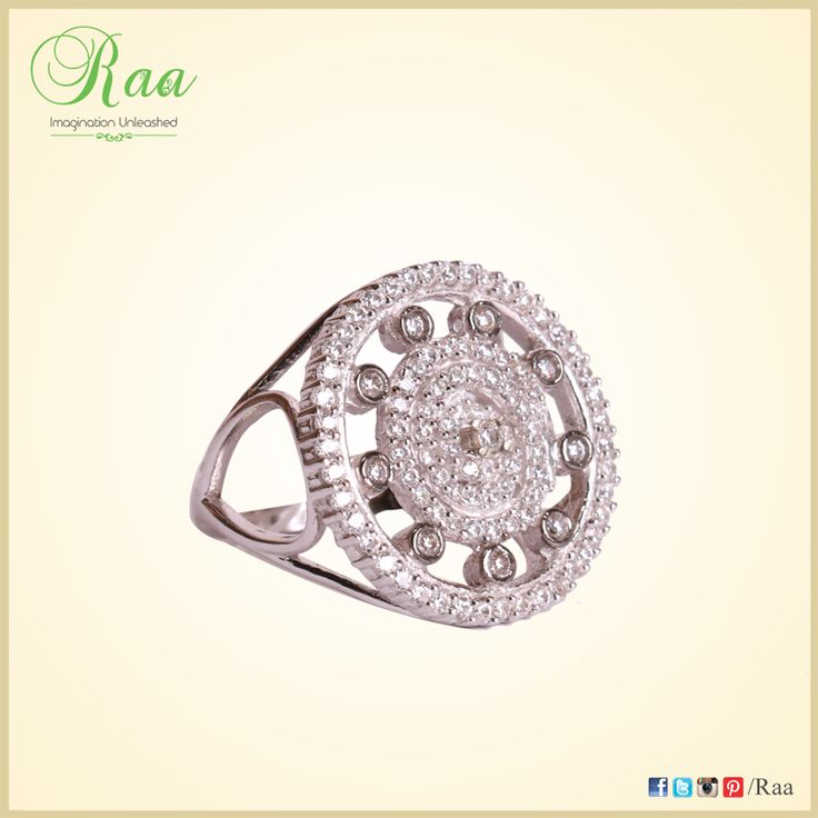 A diamond is a chunk of coal that did well under pressure! ‪#‎diamonds‬ ‪#‎whitegold‬ ‪#‎ring‬ ‪#‎jewelry‬ ‪#‎customized‬ ‪#‎raa‬ ‪#‎chennai‬