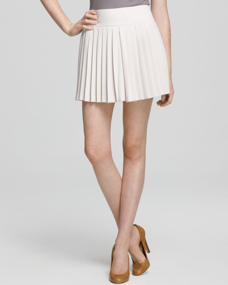 Theory Skirt - Tria Vamp Pleated | Bloomingdale's