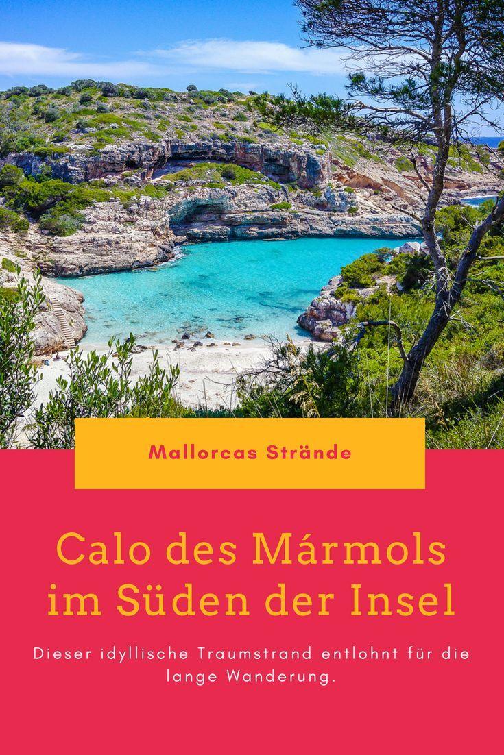 Calo Des Marmols Traumstrand Nach Langer Wanderung Strand