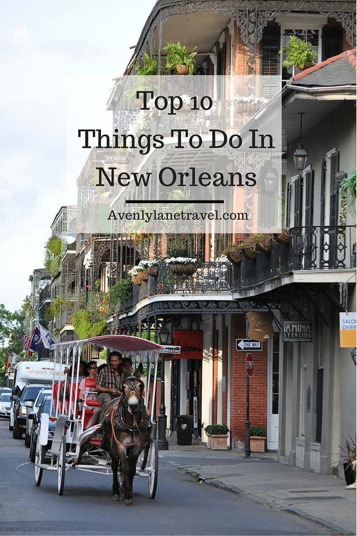 New Orleans is an incredibly unique city.  Click through to see the top 10 things  to do in New Orleans!