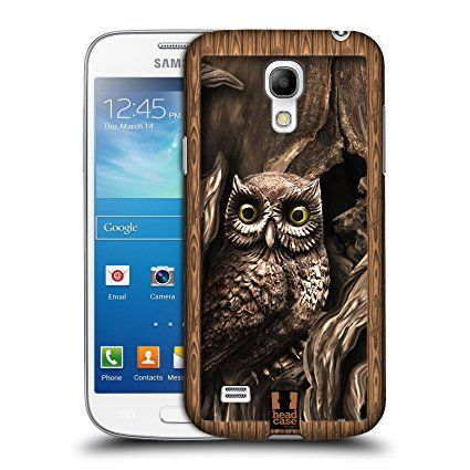 UK Gifts for Animal Lovers - Head Case Designs Owl Shadow Box Hard Back Case for Samsung Galaxy S4 mini I9190. It is an Amazon affiliate link.