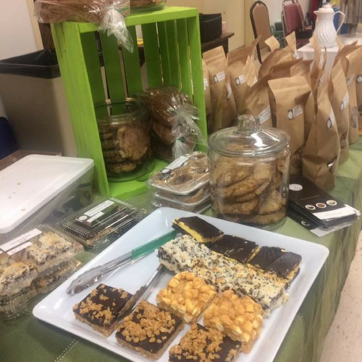 Every Wed + Sat we are at the Thunder Bay Country Market. Come by and say hi and get your gluten-free goodies!