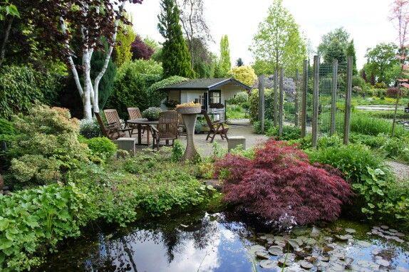 40 beste afbeeldingen over vijvertuinen op pinterest tuinen achtertuinen en zen ontwerp - Bassin tuin ontwerp ...